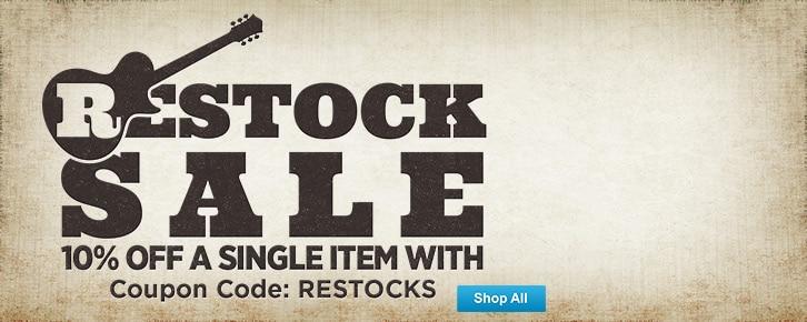 Restock Sale
