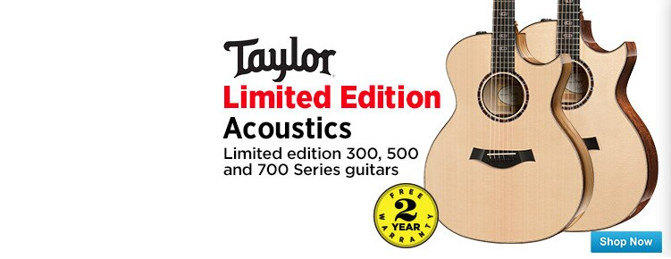 Taylor Limited Edition Acoustics
