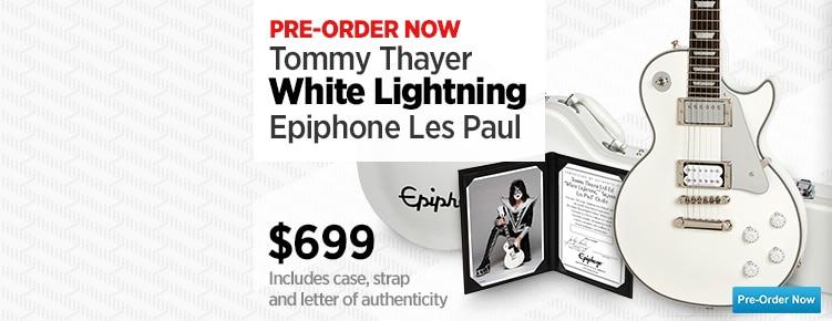 Tommy Les Paul White Lightning