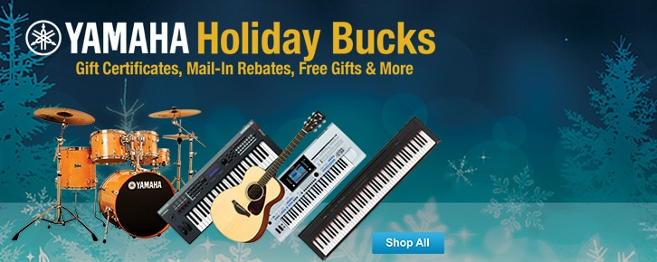 Yamaha Holiday Bucks