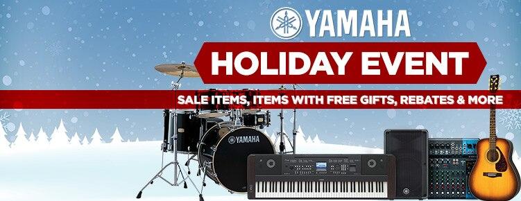 Yamaha Holiday Event