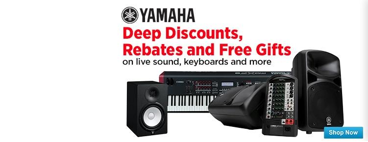 Yamaha Spring Savings