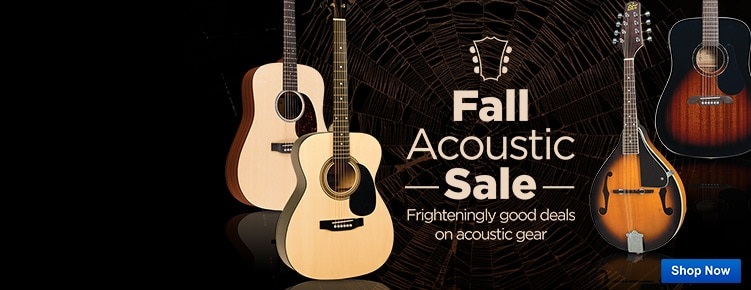 Fall Acoustic Sale