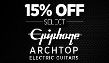 Epiphone Archtop Sale