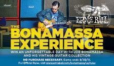 Joe Bonamassa Experiencesweeps