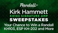 Kirk Hammett Sweeps