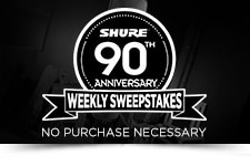 Shure 90th AnniversarySweeps