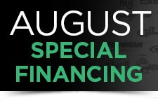 August Special Financing