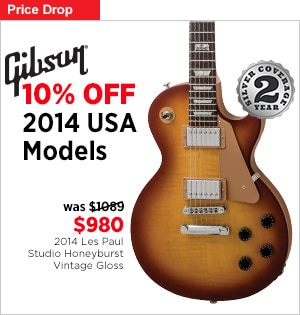 10 Off 2014 Gibson USA Model Guitars