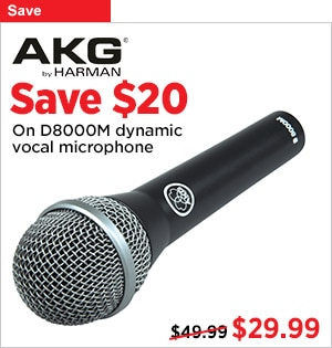 AKG D8000M Dynamic Vocal Mic