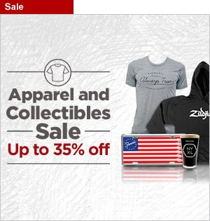 Apparel and Collectibles Sale