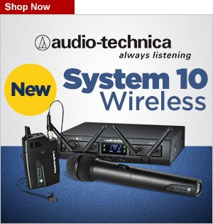 COOP 1251218 AudioTechnica System 10 Wireless