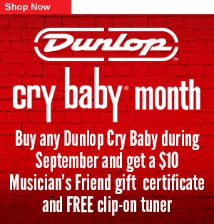 Dunlop Crybaby Month