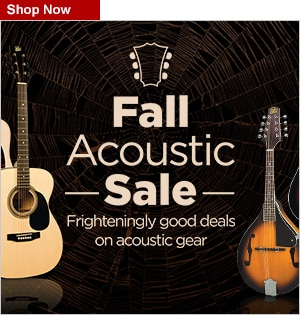 Fall Acoustic SaleLast Chance