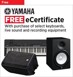 Free Musicians Friend eCertificate