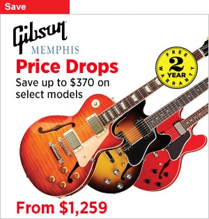 Gibson Memphis Price Drops