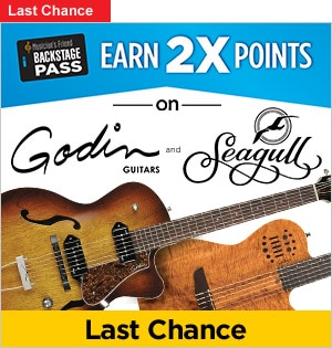 Godin and Seagull 2x BSP Points last chance