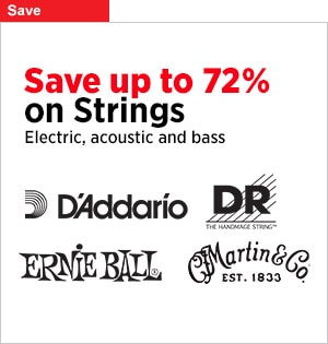 Huge Savings on Strings