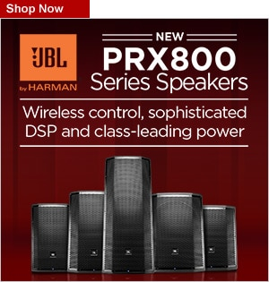 JBL PRX800 New Product Launch