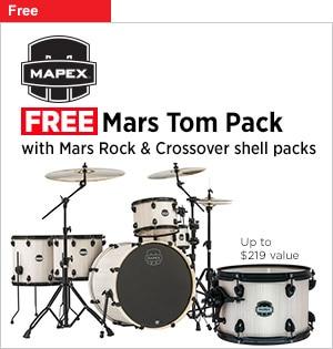 Mapex logo Free Mars Tom Pack
