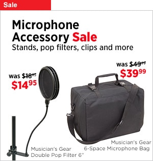 Microphone Accessory Sale