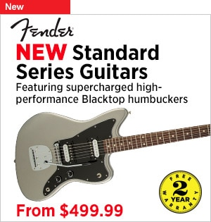 NEW Fender Standard Series Guitarsthrough 331