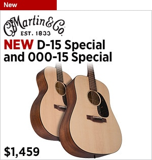 New Martin D15OOO15 Special