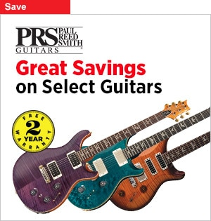 PRS GuitarsSelect models on sale