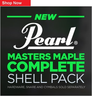 Pearl Master Maple Complete Drum Kits COOP