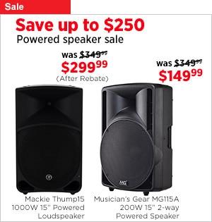Powered Speaker Sale