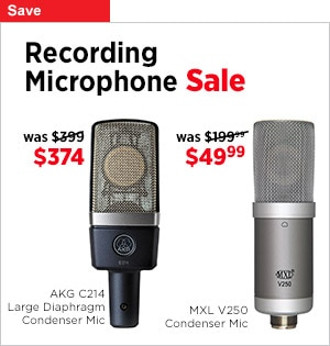 Recording Microphone Sale