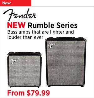 The AllNew Fender Rumble Series