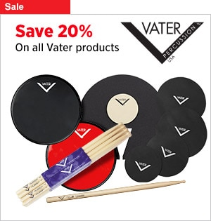 Save 20 on Vater SticksAccessories