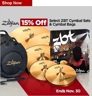 Zildjian 15 off Select products