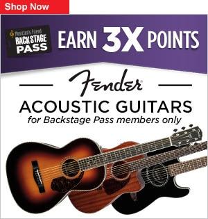 Fender Acoustic 3x Points
