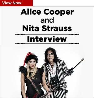 Alice Cooper and Nita Strauss Interview