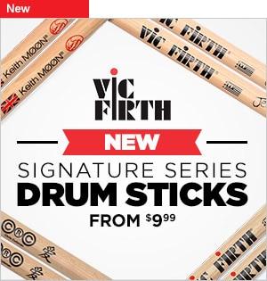 Vic Firth New Signature Series Drumsticks