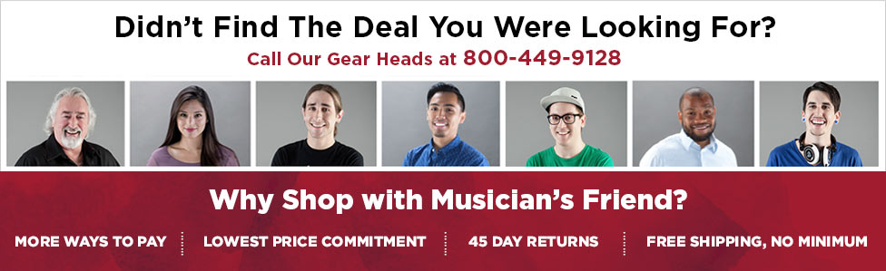 musicians friend coupon exclusions