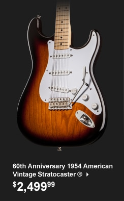 Fender 60th Anniversary American Vintage 1954 Stratocaster Electric Guitar