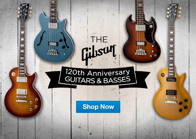 Gibson 120th Anniversary Guitars & Basses