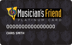 Musician's Friend Platinum Credit Card Logo