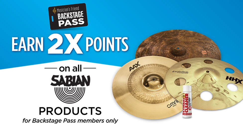 back stage pass members only earn 2 times points on all sabien products