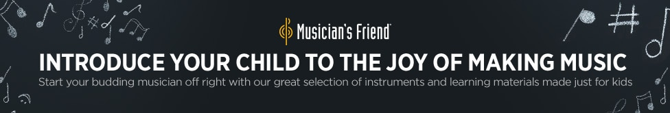 Introduce Your Child to the Joy of Making Music start your budding musician off right with our grand selection of instruments and learning materials made just for kids