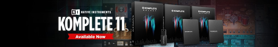 Available Now, Native Instruments Komplete element