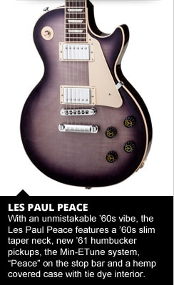 Gibson Les Paul Peace