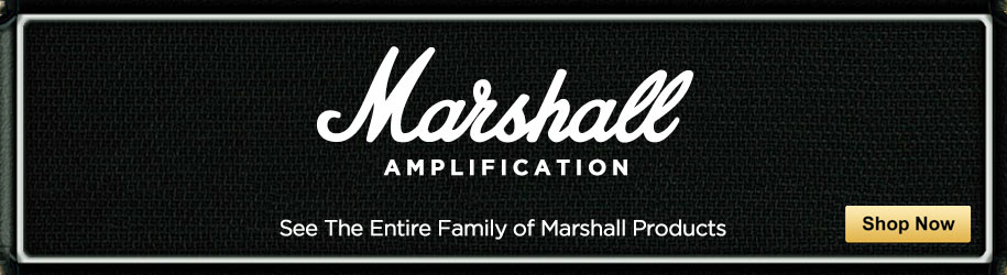 Marshall Amplification. See The Entire Family of Marshall Products. Shop Now.