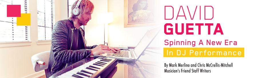 David Guetta Spinning a New Era in DJ Performance