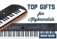 Top gifts for keyboardists. Shop Now