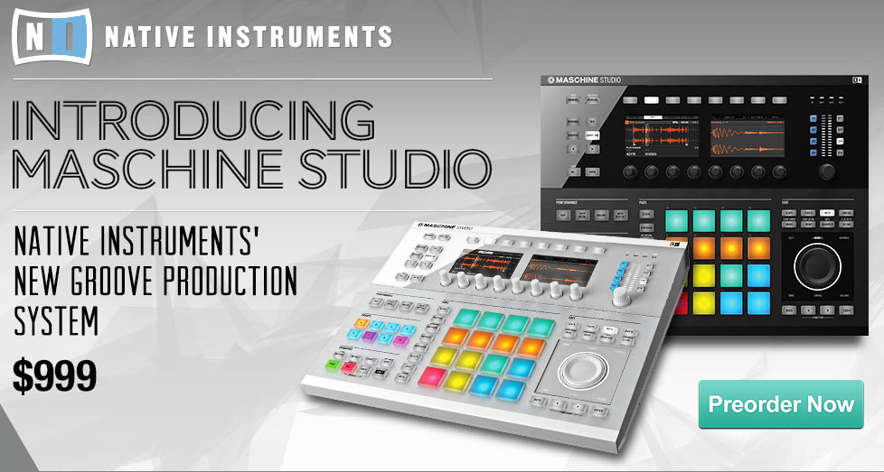 Native Instruments Maschine Studio Groove Production