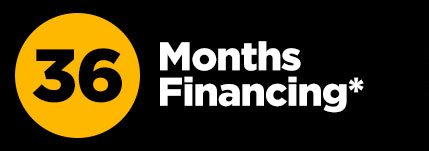 36 months promotional financing *